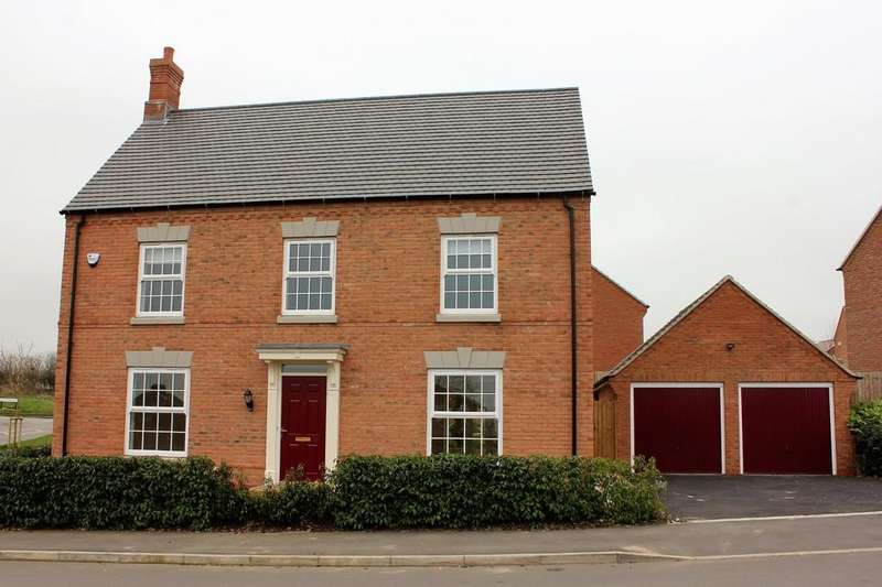 4 Bedrooms Detached House for sale in Mulberry Way, East Leake