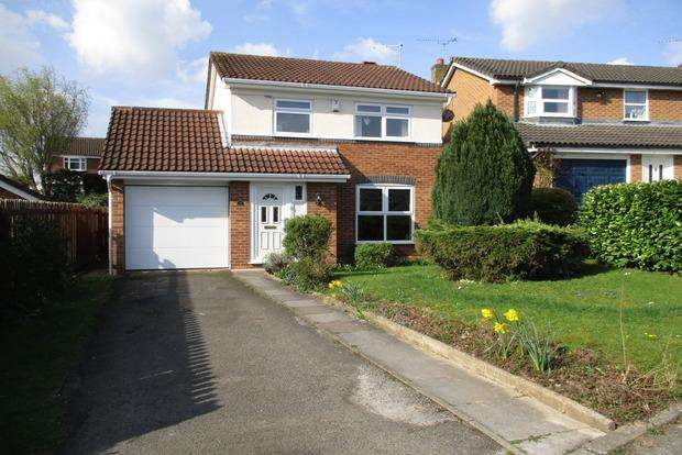 3 Bedrooms Detached House for sale in Finch Way, Narborough, Leicester, LE19