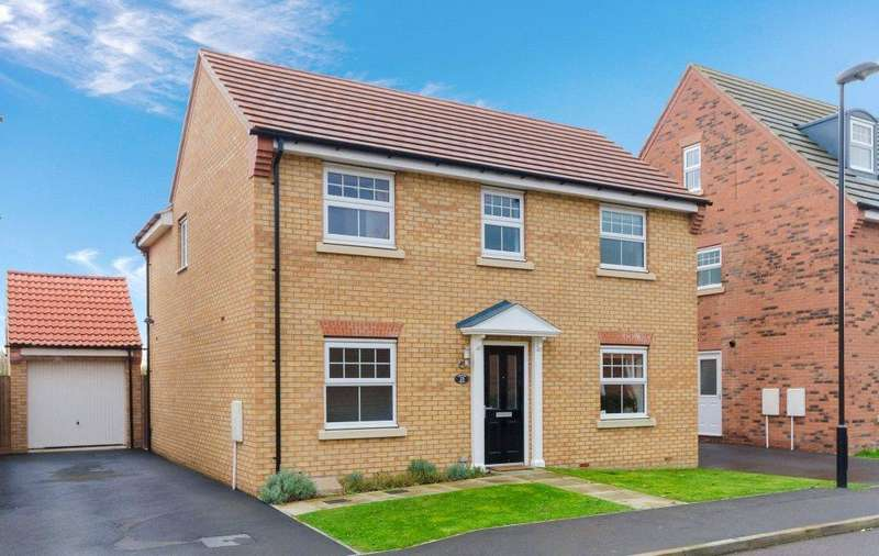 4 Bedrooms Detached House for sale in Chepstow Drive, Bourne, PE10