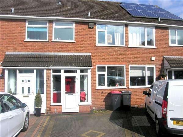 2 Bedrooms Terraced House for sale in Arden Croft, Coleshill