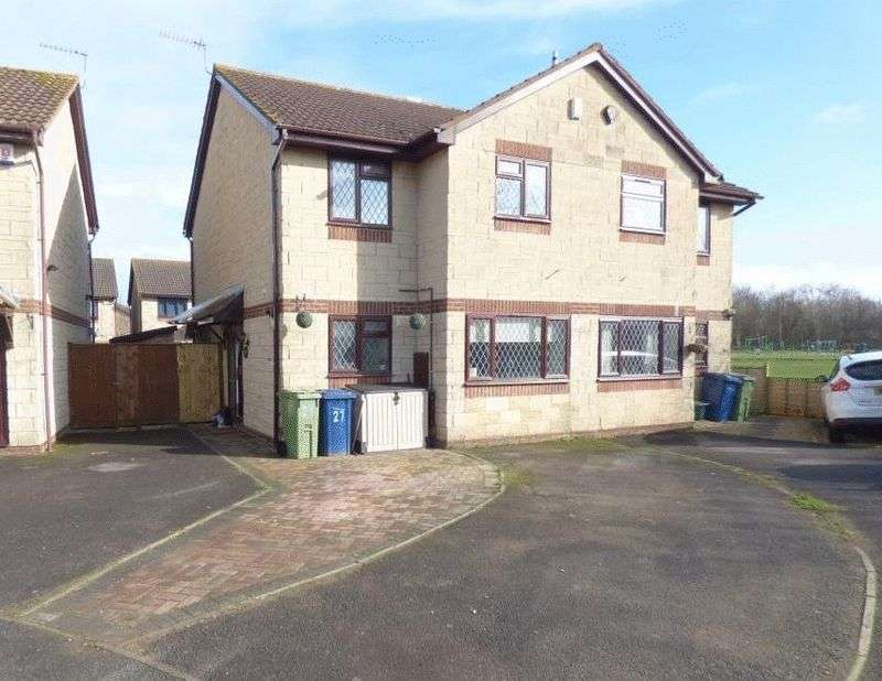 3 Bedrooms Semi Detached House for sale in Brandon Close, Churchdown, Gloucester
