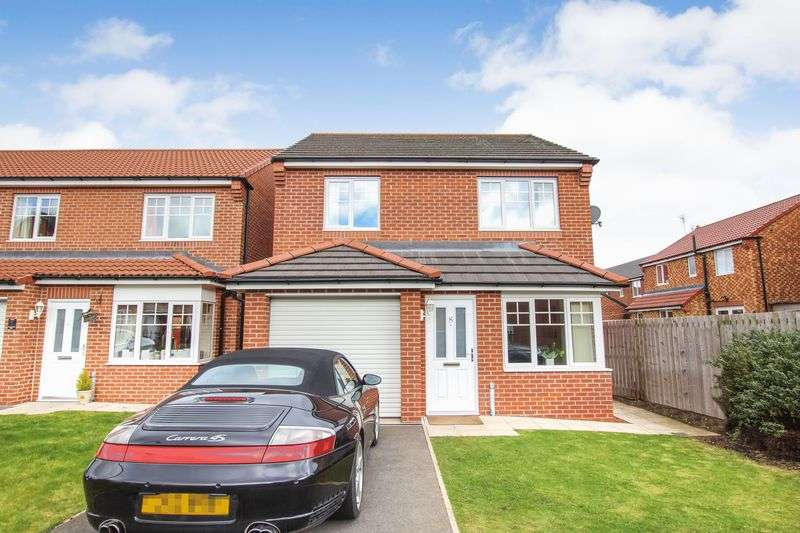 3 Bedrooms Detached House for sale in Overcombe Way, Redcar