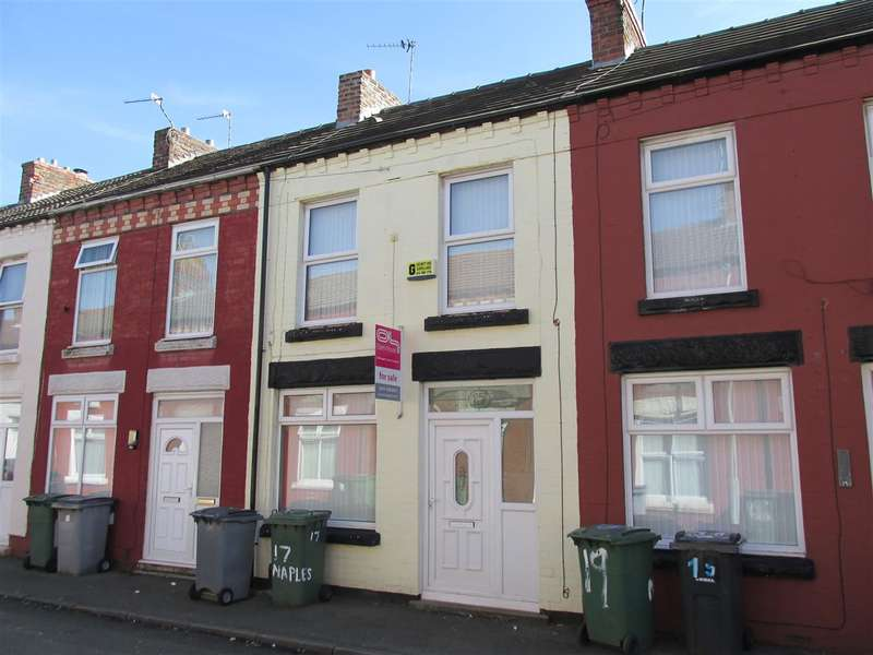 2 Bedrooms Terraced House for sale in Naples Road, Wallasey