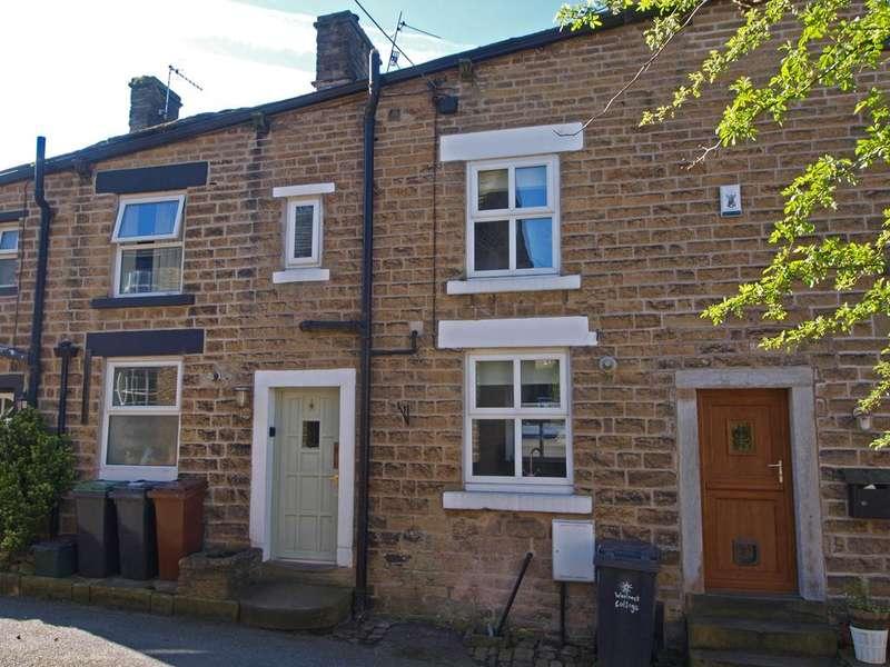2 Bedrooms Terraced House for sale in Kinder Road, Hayfield, High Peak, Derbyshire, SK22 2HJ