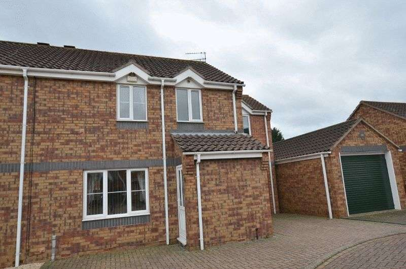 3 Bedrooms Semi Detached House for sale in Orchard Close, Burringham, Scunthorpe