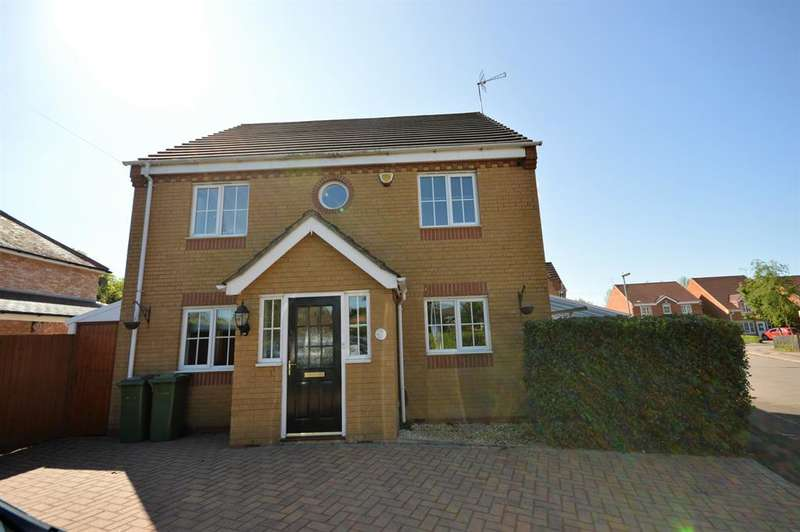 4 Bedrooms Detached House for sale in Nowell Close, Glen Parva, LE2 9SZ