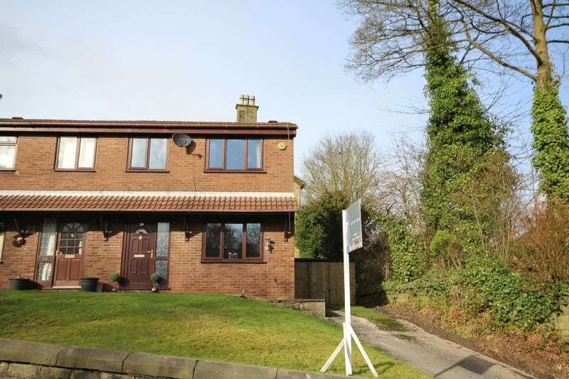 3 Bedrooms Semi Detached House for sale in HALL STREET, Whitworth OL12 8TL