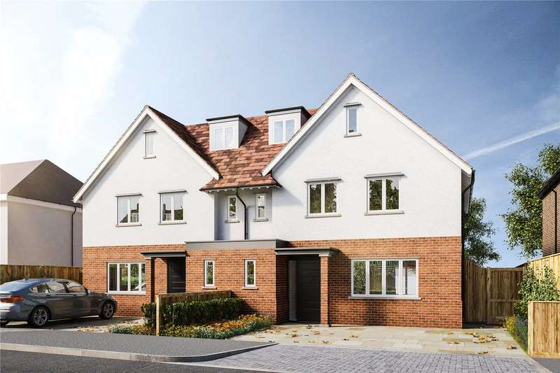4 Bedrooms Semi Detached House for sale in Herkomer Road, Bushey, Hertfordshire, WD23