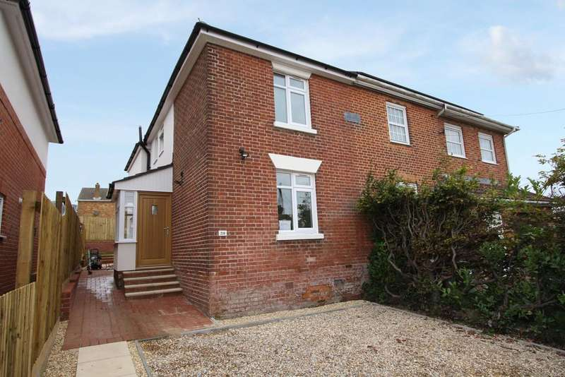 3 Bedrooms Semi Detached House for sale in Bursledon Road, Hedge End SO30