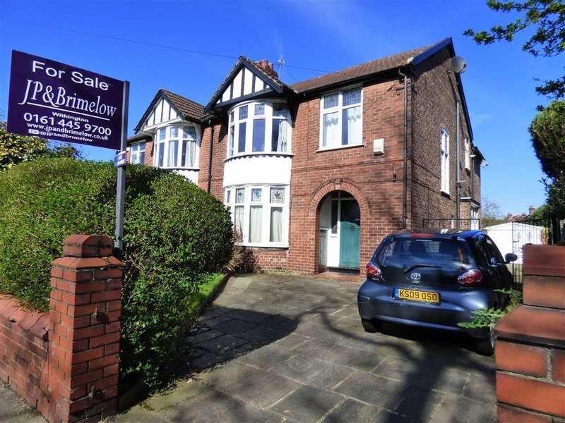 4 Bedrooms Semi Detached House for sale in Cotton Lane, Withington, Manchester, M20