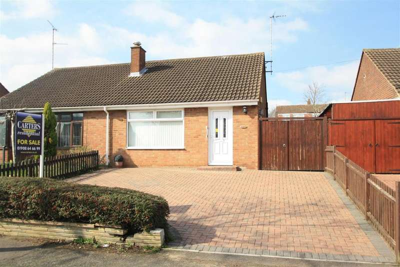 2 Bedrooms Semi Detached Bungalow for sale in Shelley Drive, Bletchley, Milton Keynes