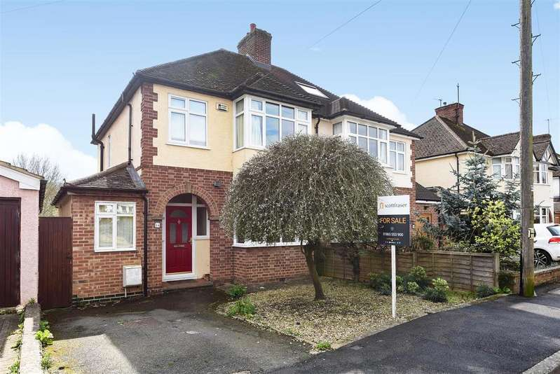 3 Bedrooms Semi Detached House for sale in Templar Road, North Oxford