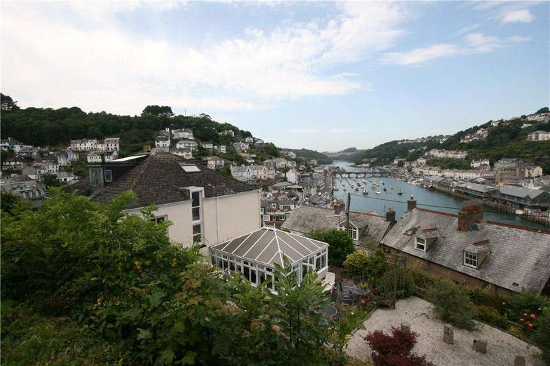 5 Bedrooms Detached House for sale in Havenford House, Hannafore Lane, Looe, Cornwall