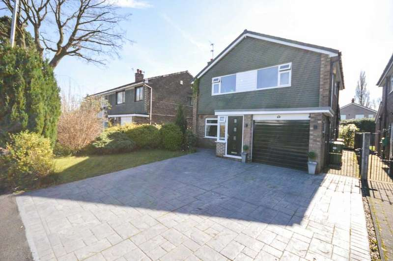 4 Bedrooms Detached House for sale in Roche Gardens, Cheadle Hulme