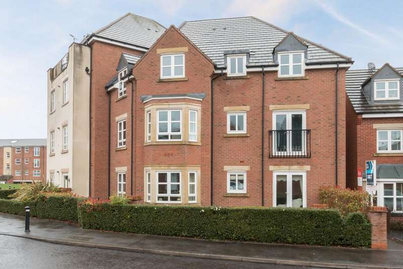 2 Bedrooms Apartment Flat for sale in Middlewood Close, Solihull, West Midlands