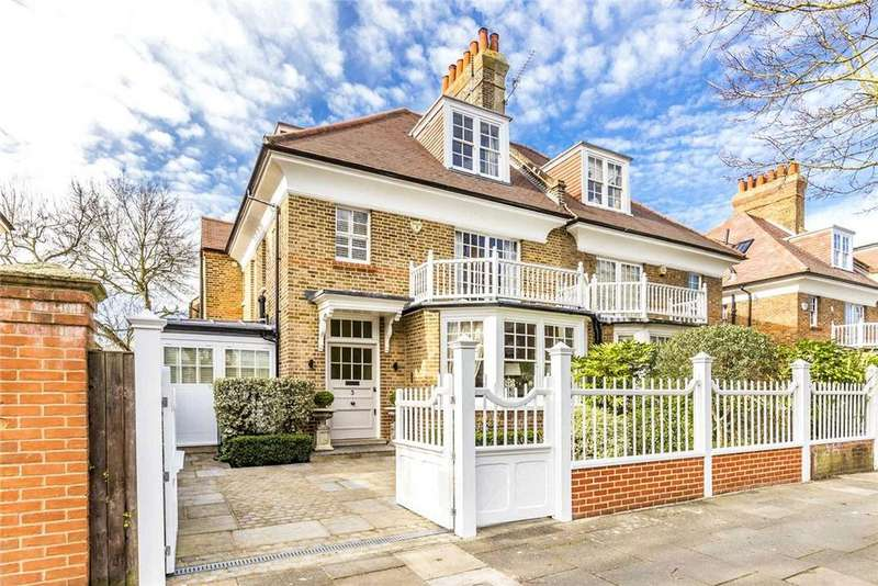 5 Bedrooms Semi Detached House for sale in Woodstock Road, Chiswick, London, W4