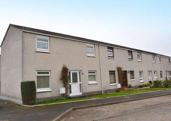 3 Bedrooms End Of Terrace House for sale in 95 Castleview, Dundonald, Kilmarnock, KA2 9JA