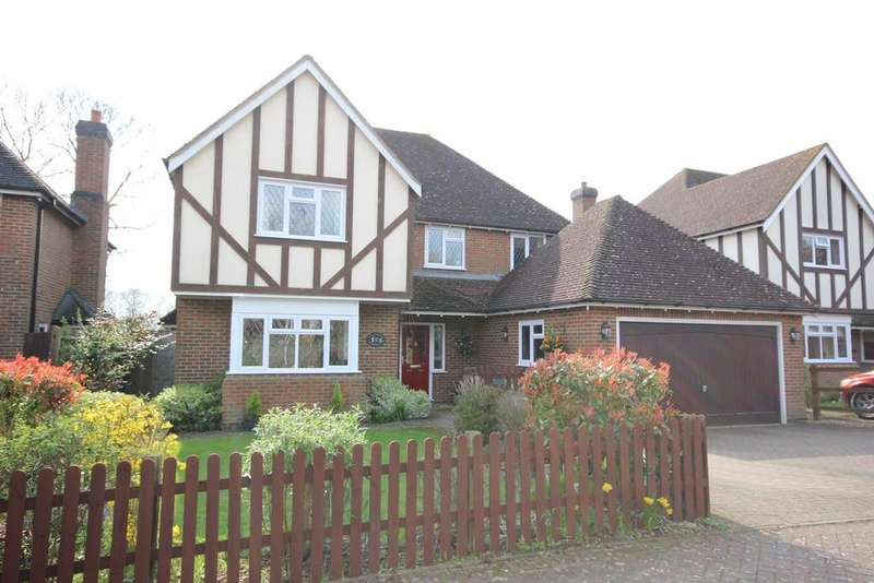 4 Bedrooms Detached House for sale in Hawthorne Close, Clophill, MK45