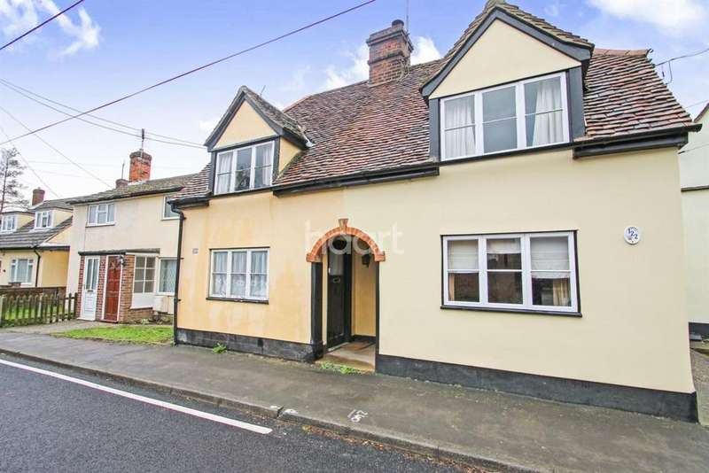 2 Bedrooms Cottage House for sale in Nunnery Street, Castle Hedingham