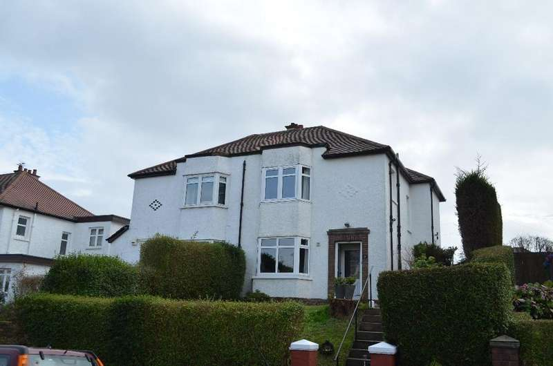 3 Bedrooms Semi Detached House for sale in Bradfield Avenue, Kelvinside, Glasgow, G12 0QH