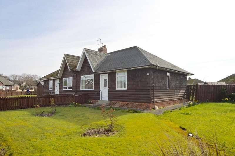 2 Bedrooms Bungalow for sale in Mainholm Crescent, Ayr, Ayrshire, KA8 0QT