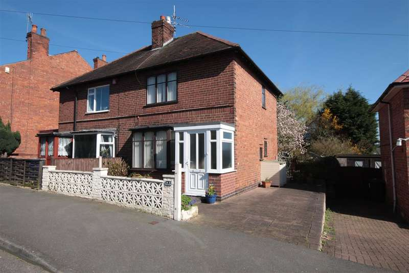 2 Bedrooms Semi Detached House for sale in Queens Avenue, Ilkeston