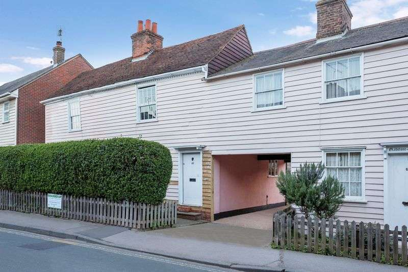 2 Bedrooms Terraced House for sale in North Street, Rochford Conservation