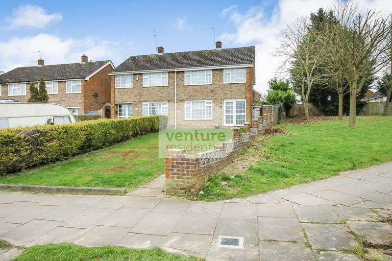 3 Bedrooms Semi Detached House for sale in Wheatfield Road, Luton