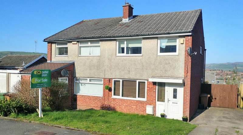 3 Bedrooms Semi Detached House for sale in Caernarvon Court, Hendredenny, Caerphilly
