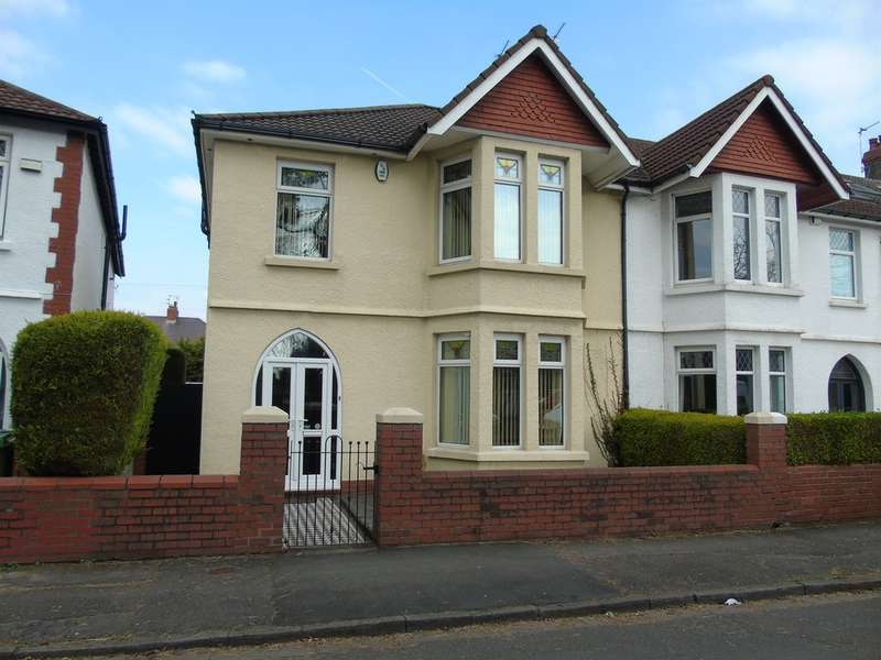 4 Bedrooms End Of Terrace House for sale in Thompson Avenue, Cardiff