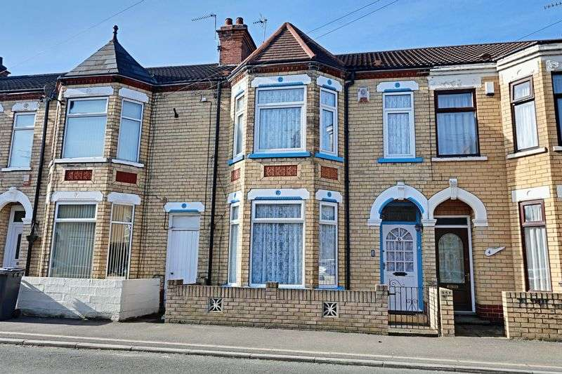 3 Bedrooms Terraced House for sale in Faraday Street, Hull