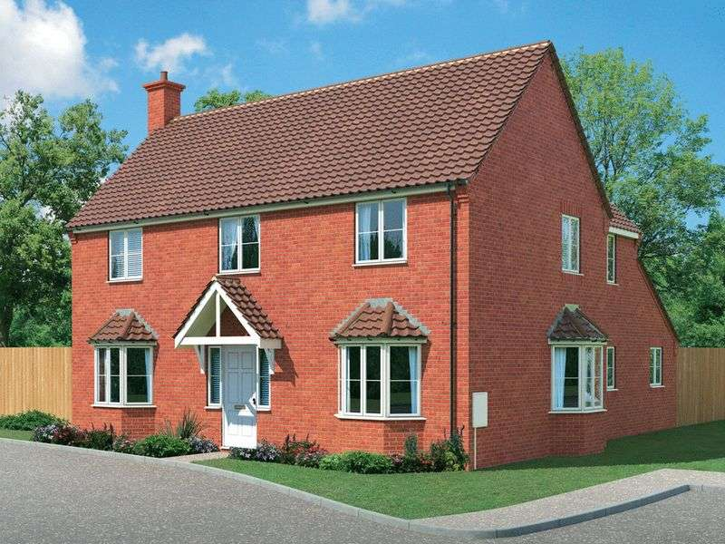 4 Bedrooms Detached House for sale in Plot 77, The Burford at Fairways Park, West Hill Road, Retford, DN22 7RT