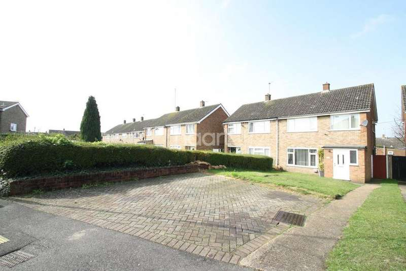 3 Bedrooms Semi Detached House for sale in Gelding Close, Luton