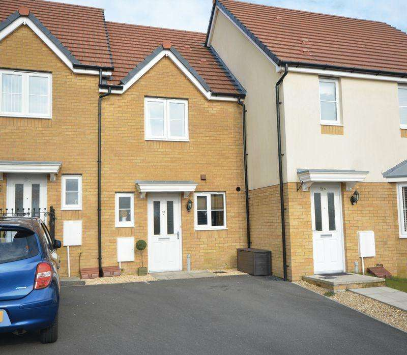 2 Bedrooms Terraced House for sale in 95 Wood Green, Bridgend, CF31 4DY