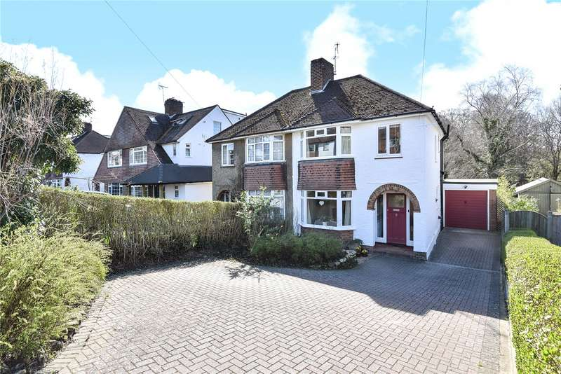 4 Bedrooms Semi Detached House for sale in Farmcombe Road, Tunbridge Wells