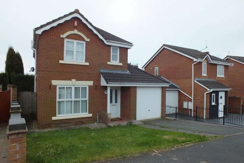 3 Bedrooms Detached House for sale in Spitfire Way, Tunstall, Stoke-On-Trent