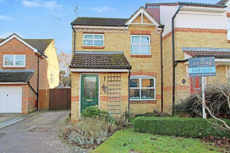 3 Bedrooms Semi Detached House for sale in Shoreham Road, Maidenbower