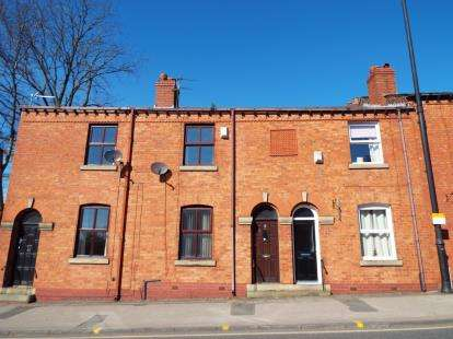 2 Bedrooms Terraced House for sale in Darlington Road East, Wigan, Greater Manchester, WN1
