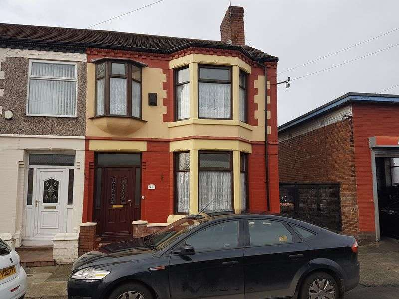3 Bedrooms Terraced House for sale in Whinfield Road, Liverpool