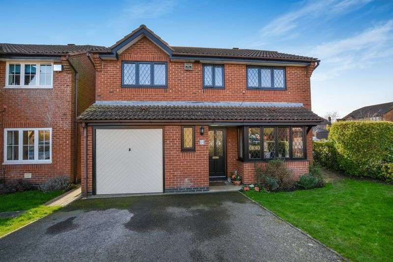 4 Bedrooms Detached House for sale in Ravencroft, Bicester