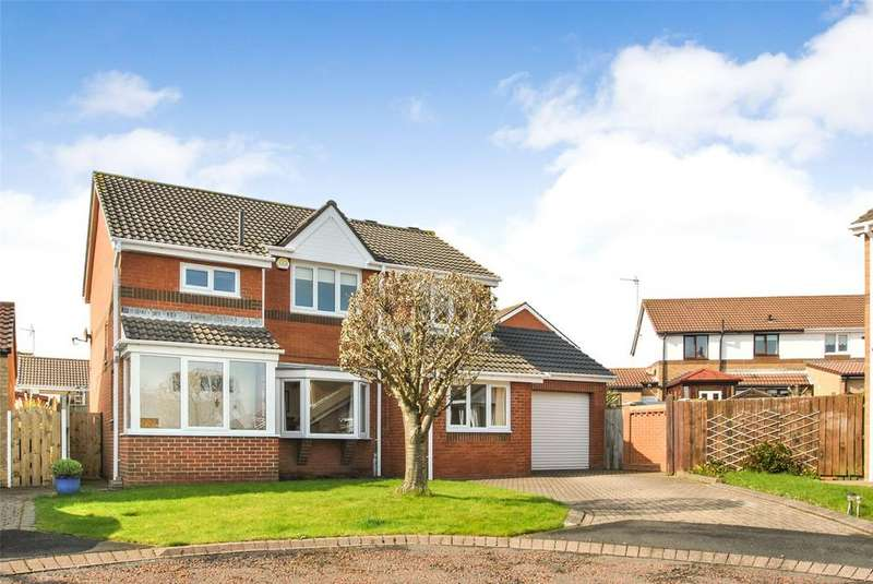 3 Bedrooms Detached House for sale in Merlin Close, Seaham, Co. Durham, SR7