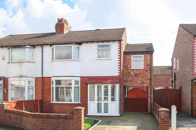 4 Bedrooms Semi Detached House for sale in Kingsley Avenue, Stretford, Manchester, M32