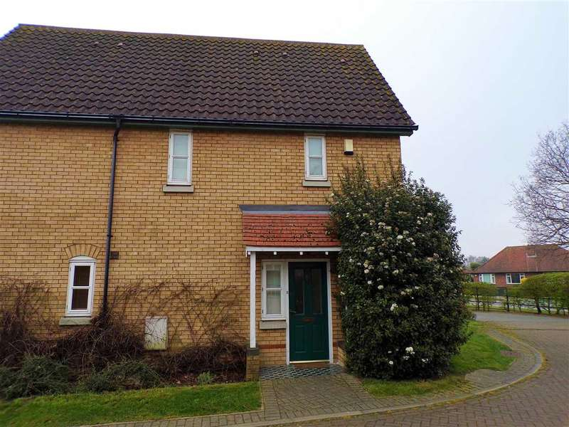 3 Bedrooms Semi Detached House for sale in Harrier Close, Ipswich
