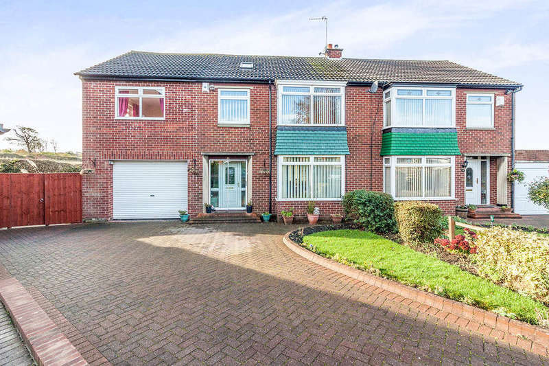 5 Bedrooms Semi Detached House for sale in Burnaby Drive, RYTON, NE40