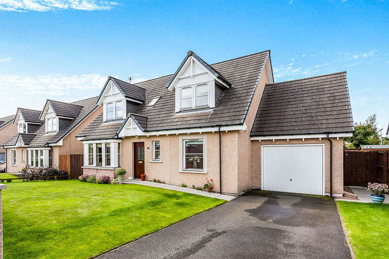 4 Bedrooms Detached House for sale in Slateford Gardens, Edzell, Brechin, DD9