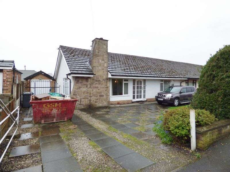 2 Bedrooms Semi Detached Bungalow for sale in Park Road, Warrington