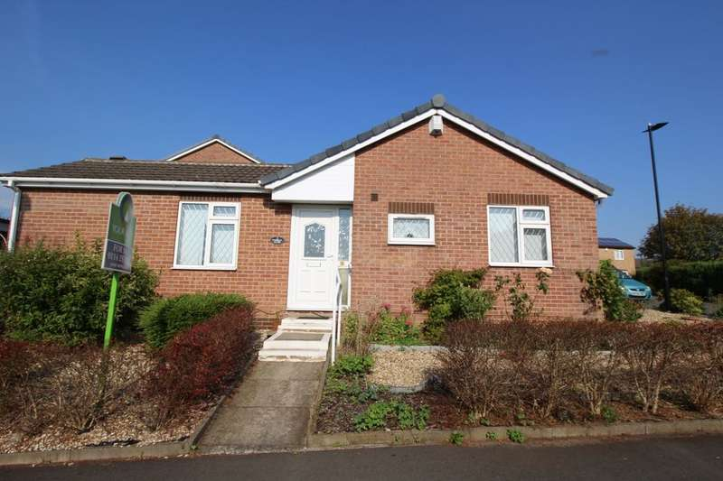 2 Bedrooms Detached Bungalow for sale in Darwall Close, High Green, Sheffield, S35