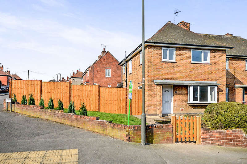 3 Bedrooms Semi Detached House for sale in Lansbury Drive, South Normanton, Alfreton, DE55