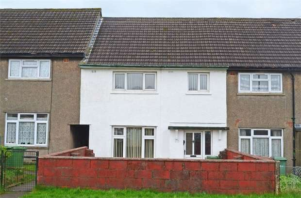3 Bedrooms Terraced House for sale in Fleur de Lys Avenue, Pontllanfraith, Blackwood, Caerphilly