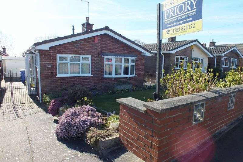 2 Bedrooms Detached Bungalow for sale in Dunwood Drive, Burslem, Stoke-On-Trent